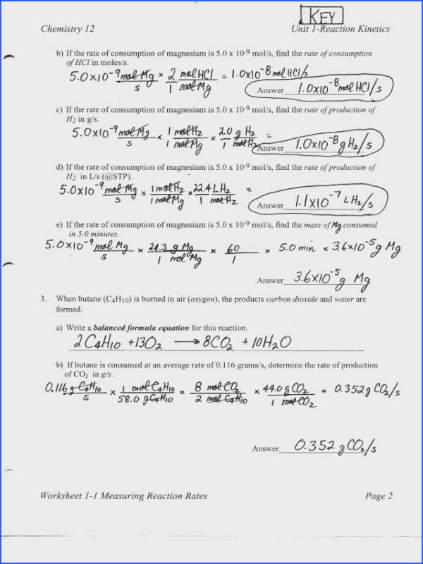 "Stoichiometry Worksheet & Basic Stoichiometry Worksheet""""sc"" 1""st Image Below Stoichiometry Worksheet 1 Answers"