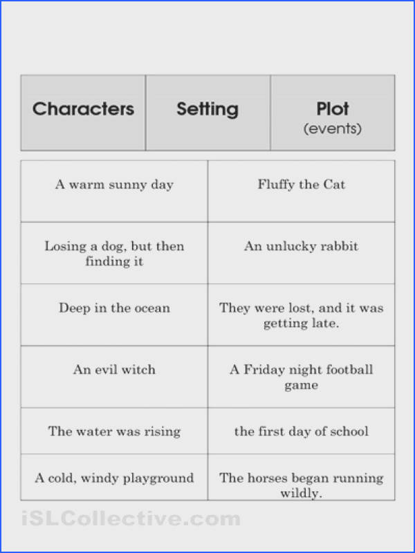 Story Element Set Cleaning Pinterest Image Below Elements Of A Story Worksheet
