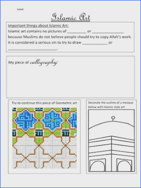 students artwork worksheets Google Search