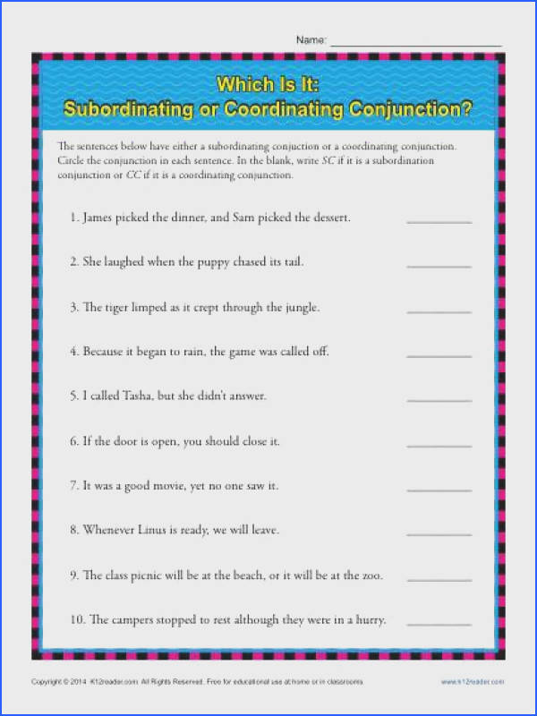 Which Is It Subordinating or Coordinating Conjunctions