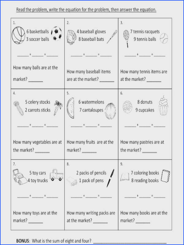 Subtraction For 1St Graders Worksheets for all Download and Worksheets