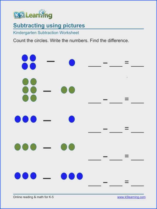 Subtraction Worksheets Printables Worksheets for all Download and Worksheets