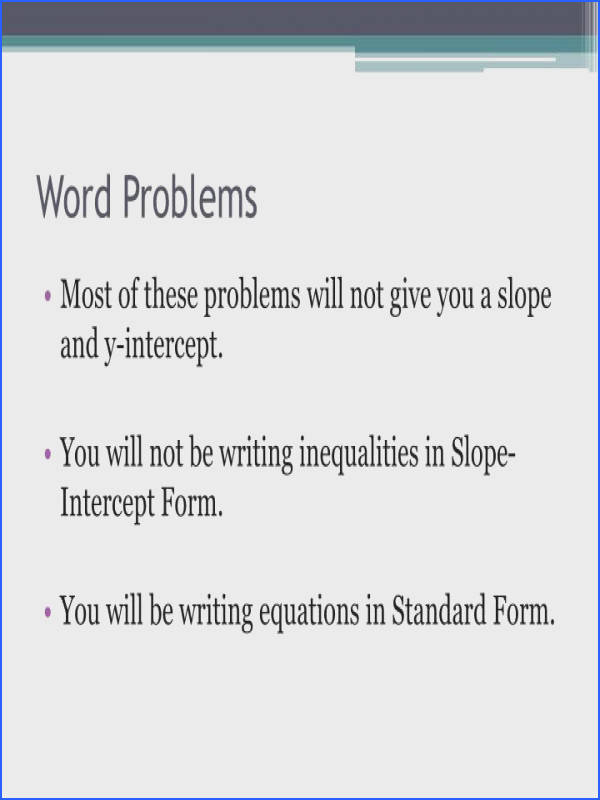 Systems of inequalities practice problems inequality word problems Worksheets