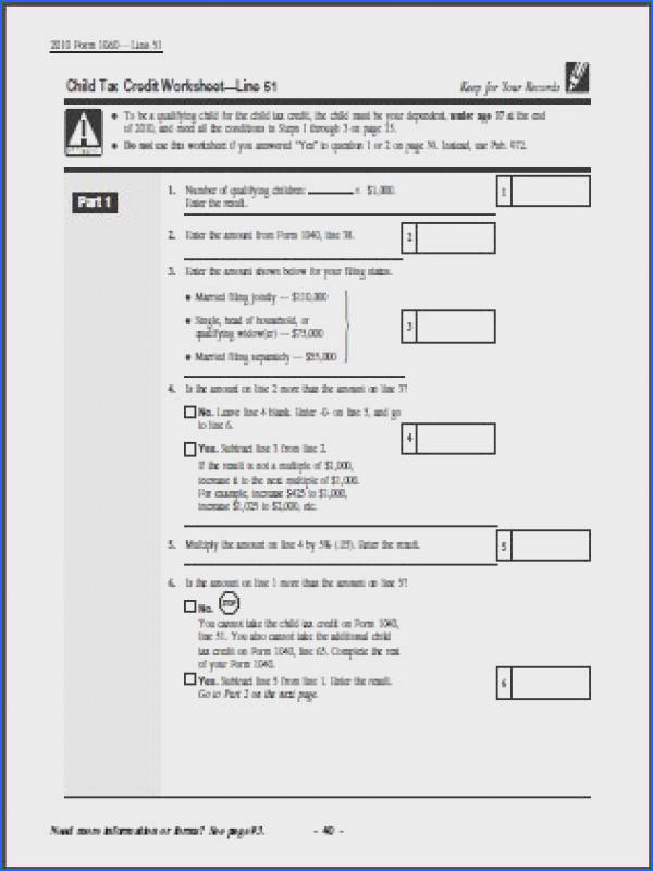 Tax Credit form Help Filling In 28 Images Learn How to Fill Image Below Child Tax Credit Worksheet 2016