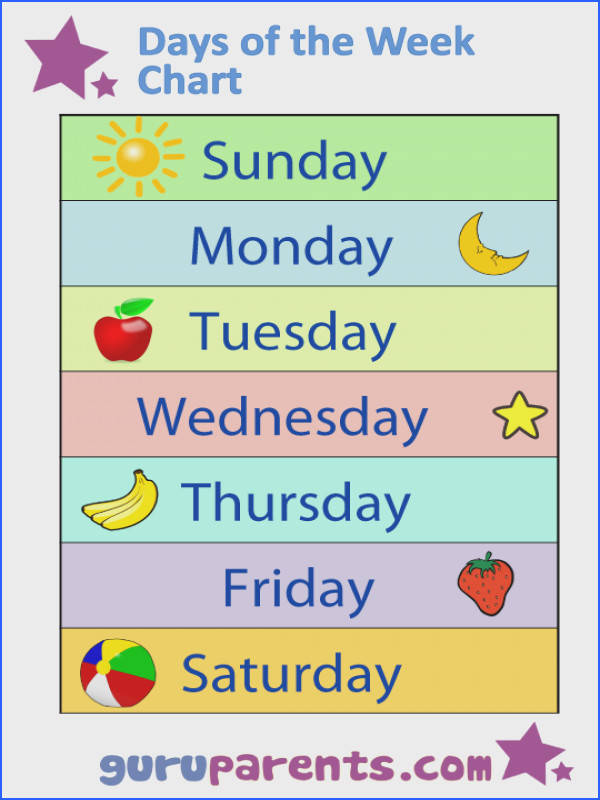 Teaching the days of the week to preschoolers can be a challenge as children may
