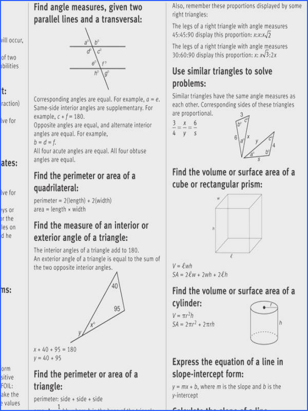 Test Review Math Worksheets Worksheets for all Download and Worksheets