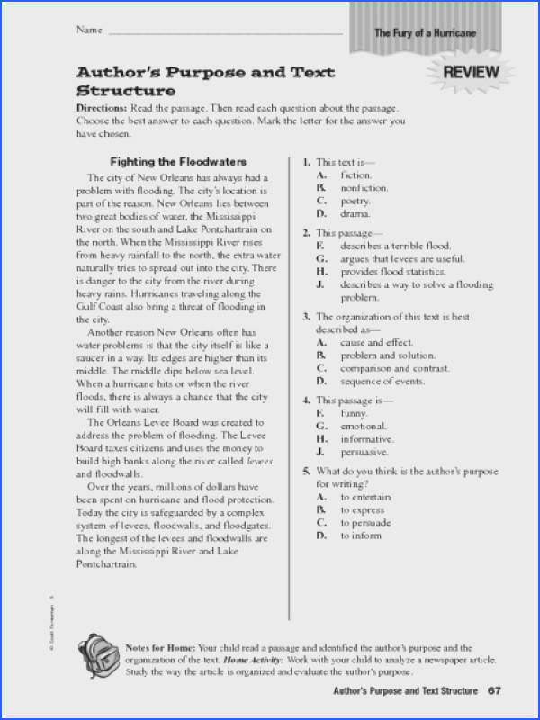 text structure worksheets 3rd grade switchconf