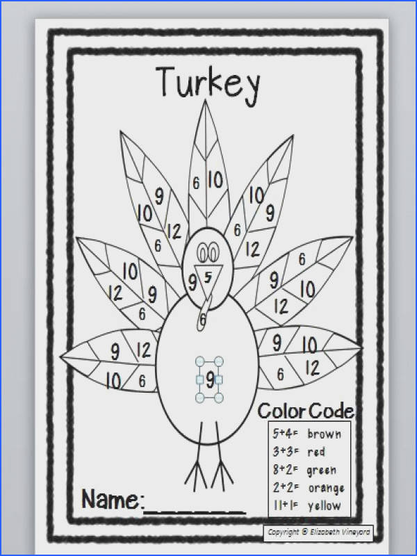 This is an engaging Thanksgiving math warm up or bell work in November Students practice