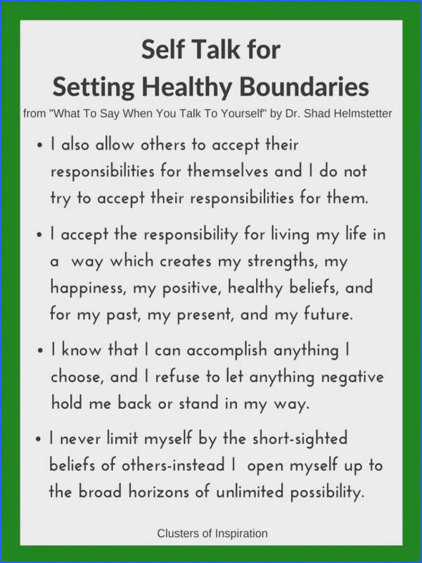 self talk healthy boundaries no guilt setting boundaries without guilt