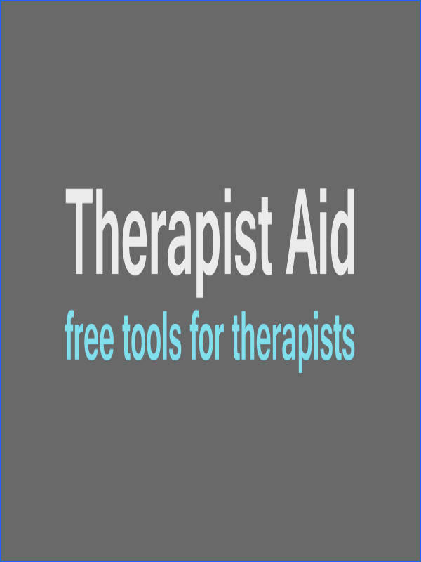 Therapist Aid Therapy Worksheets Tools and Handouts