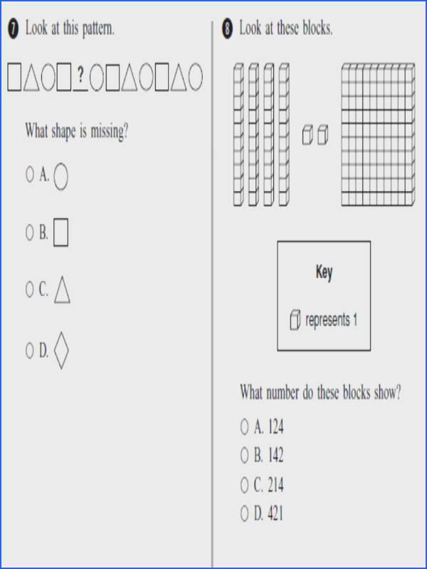 Useful Third Grade Math Test line In Third Grade line Practice Math Test 1 of