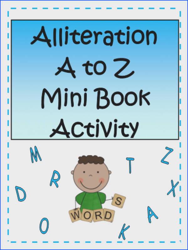 This alliteration activity includes a mini lesson on Alliteration and Tongue Twisters