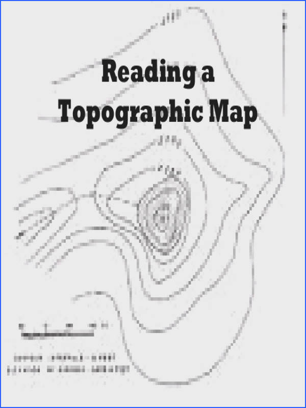 Contour Lines Topographic Map Worksheets