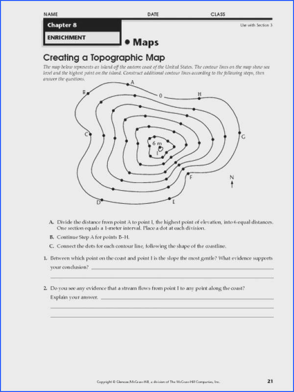 Topographic Map Matching