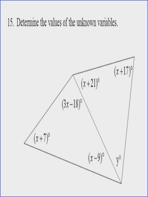 Picture Interior Angles of Triangle