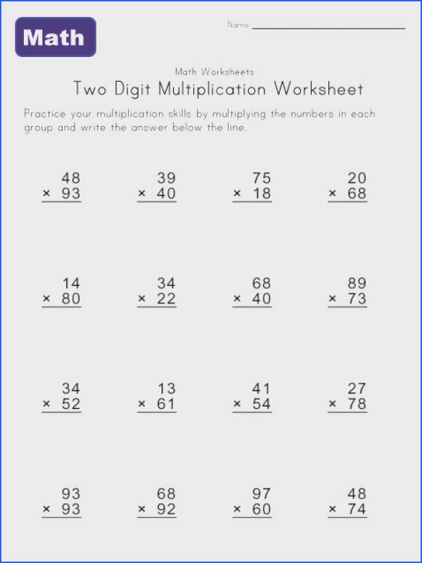 Explore Math Multiplication Worksheets and more