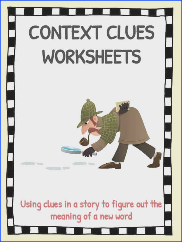 Printables Types Context Clues Worksheets context clues worksheets kidskonnect the worksheets