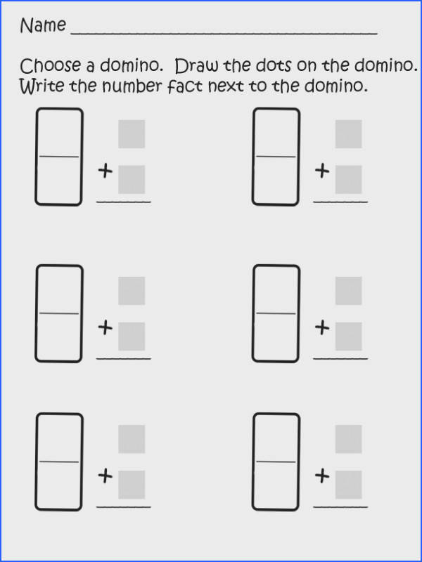 Today I uploaded a quick math product I added domino addition sheets When children use dominoes to learn addition they see the visual o