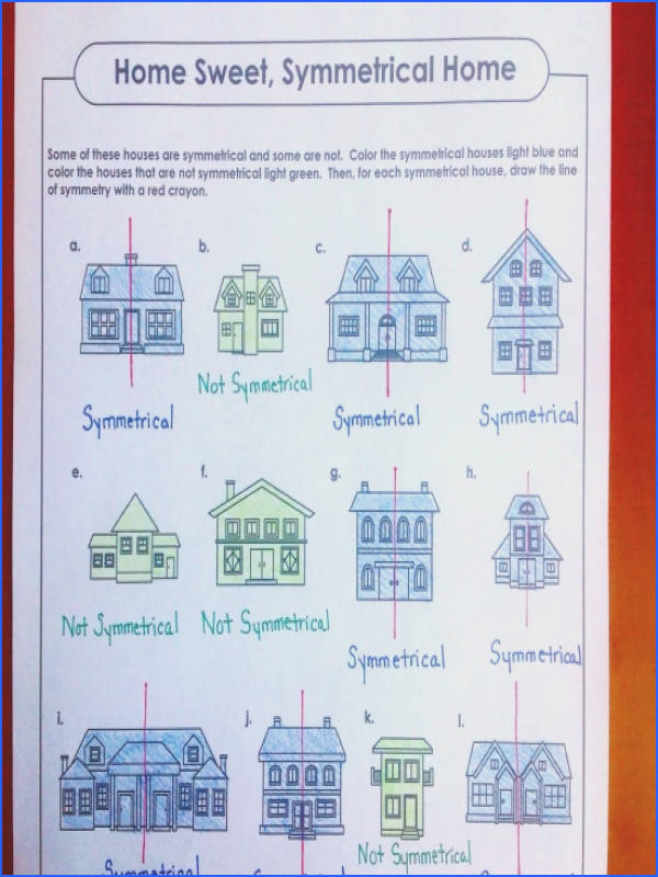 "Which house is truly a ""home sweet symmetrical home"""