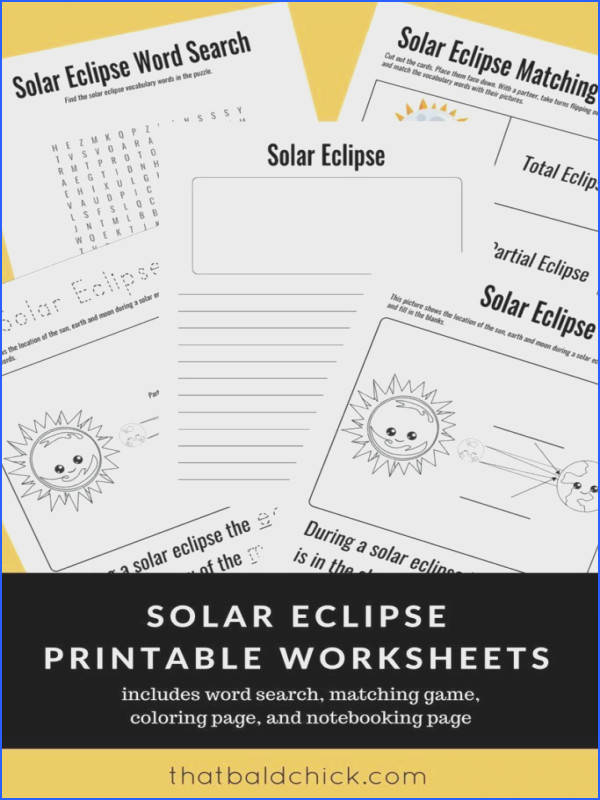 Will you be watching the 2017 solar eclipse on August 21 2017 If so here s a fun solar eclipse word search designed for K 1 students Need more