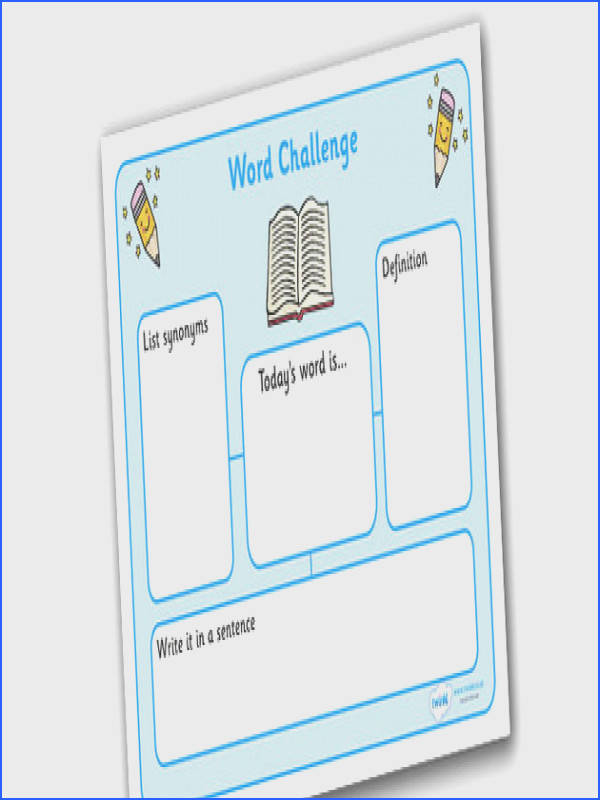Word Challenge Worksheets Word Challenge Worksheets word challenge words word challenge
