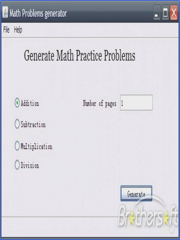 Math Worksheets Creator