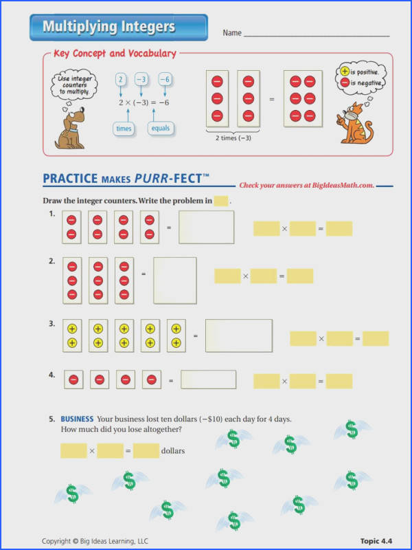 Fascinating Zero Pairs Worksheets With Additional 11 Best Integers Middle School Pinterest of