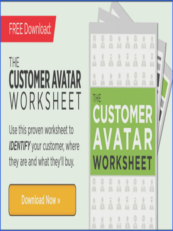 zhannadesign direction CUSTOMER AVATAR WORKSHEET