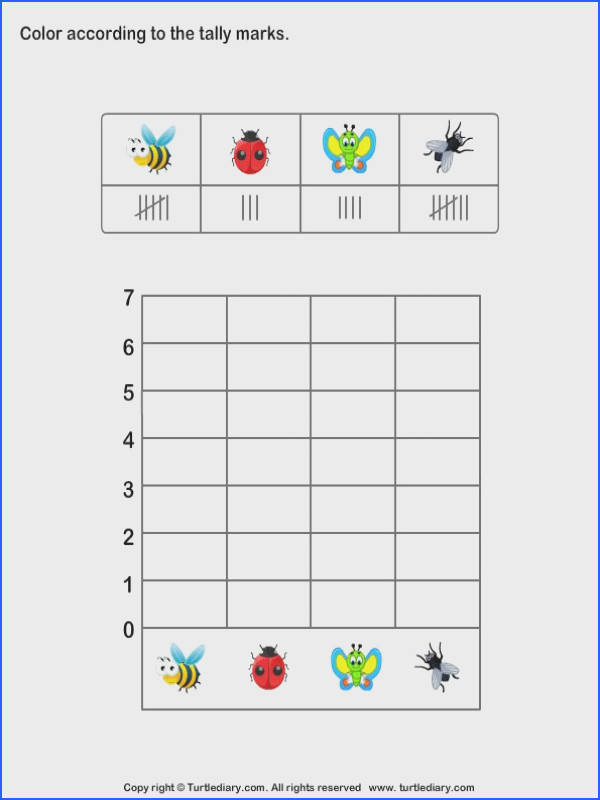 Printable Math Worksheets for Kindergarten Tally Chart Worksheets Learn Graph and Tally Worksheets for Kids