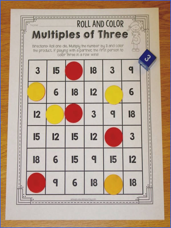 Multiplication Facts Ashleigh s Education Journey