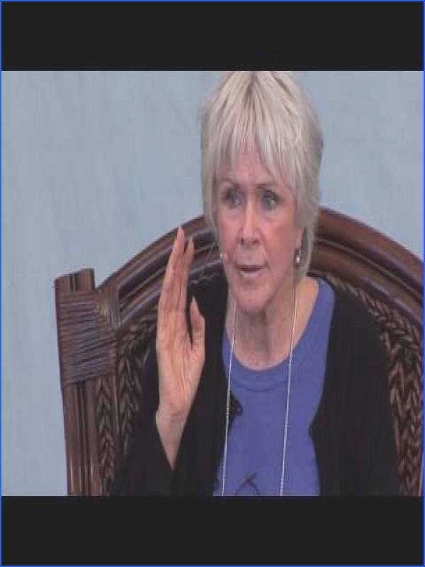 Byron Katie on the Judge Your Neighbor Worksheet