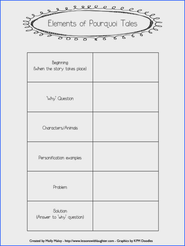 Free figurative language printables See more Pourquoi Tales