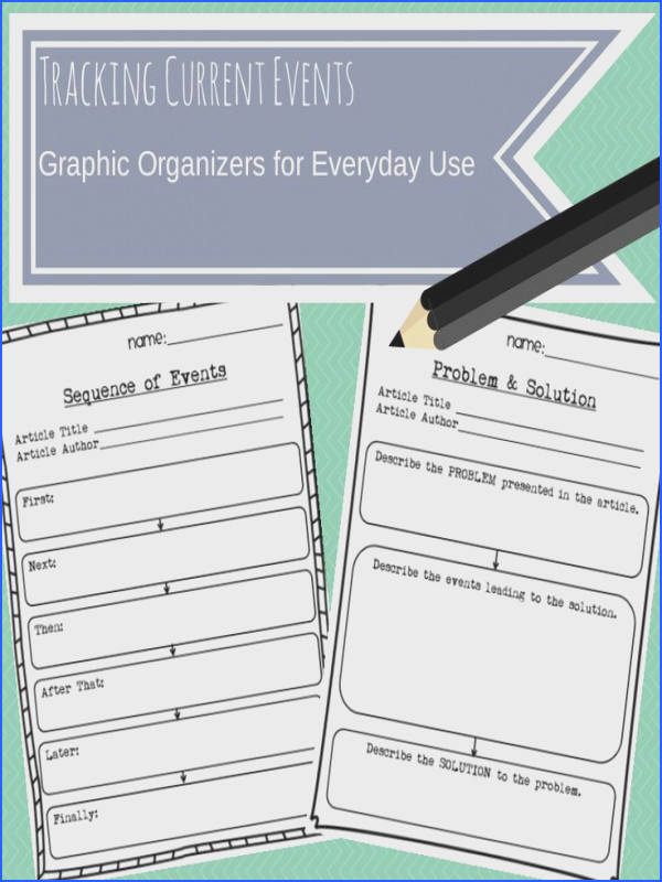 Graphic Organizers for Current Events