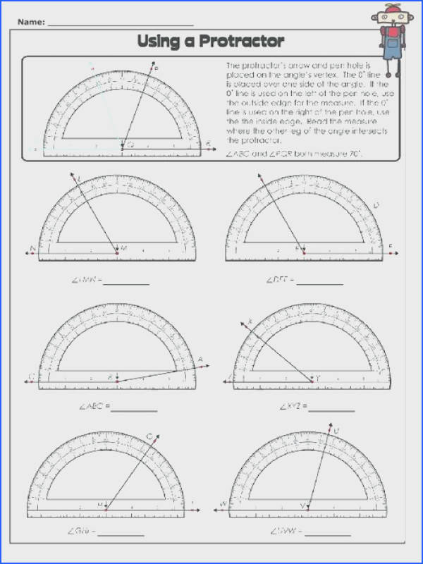 Using a Protractor 2