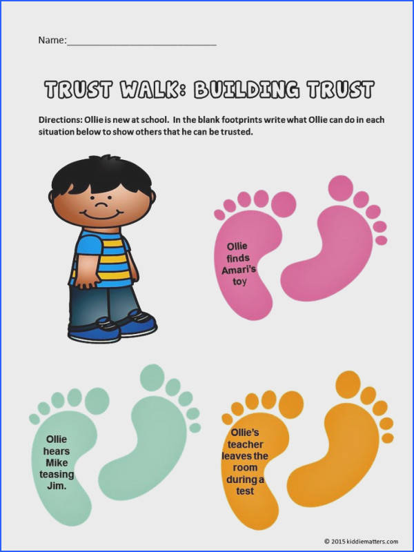 Character Education Lessons That Teach Kids Trustworthiness