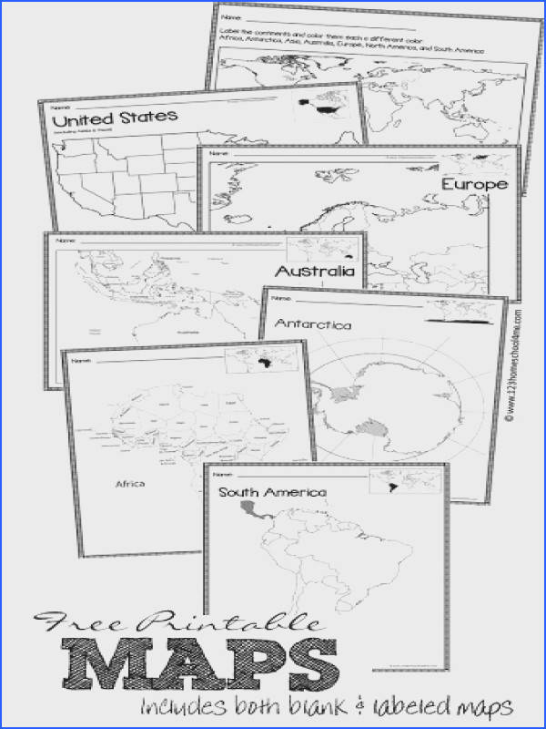 Homeschool Geography FREE Maps free printable maps of world continents australia united states europe and more both blank and labeled