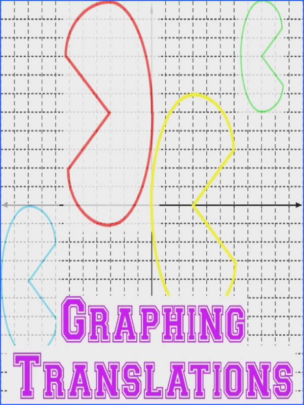 This packet helps students practice translating functions when a graph is given to them 8