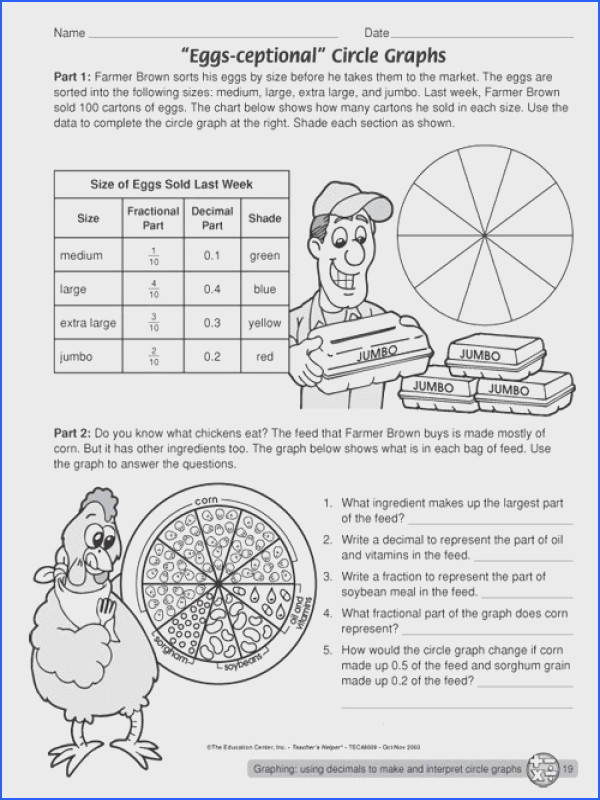 Math worksheets for the summer great website for math worksheets · Circle Graph5th Grade