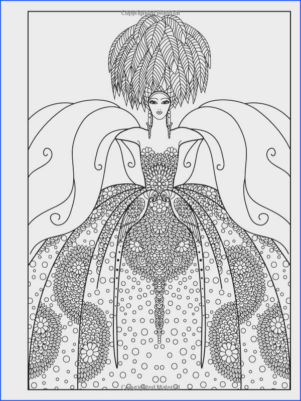 Adult Coloring Book Vintage Series The Masters of Fashion Illustration Wendy