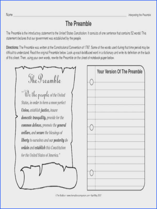 175 Best Government Images On Pinterest Image Below Principles Of the Constitution Worksheet