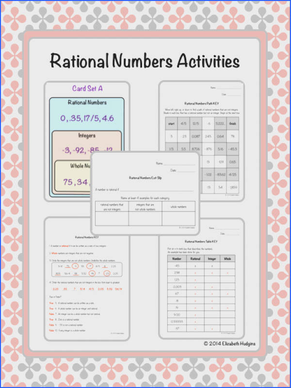 19 best ideas about 8th grade Number Systems on Pinterest
