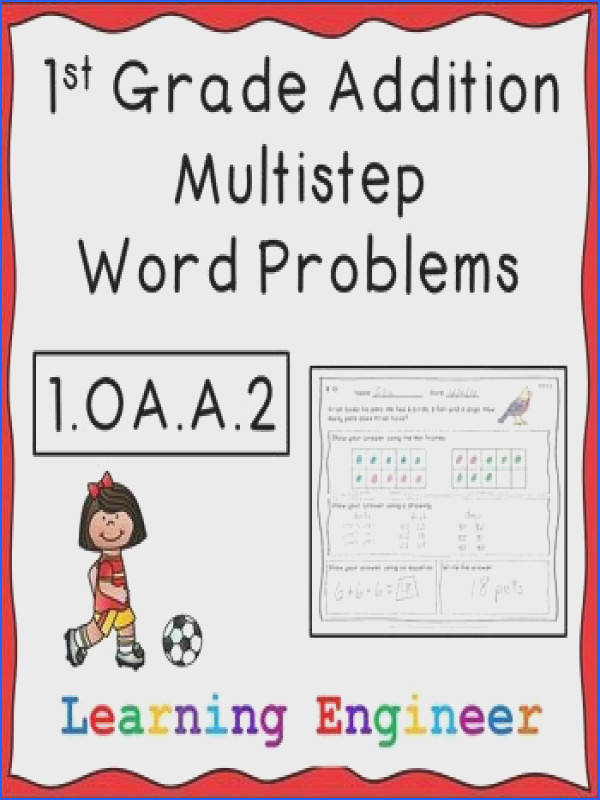 These twelve worksheets are aligned with the first grade CCSS 1 OA A 2 All the problems have three addends with sums of 20 or less