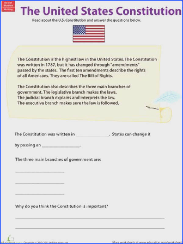 Learn About the U S Constitution