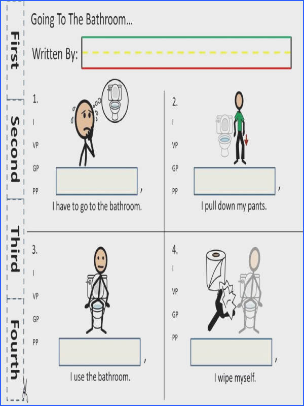 Writing Activities for non verbal Children Teach event ordering with these great worksheets
