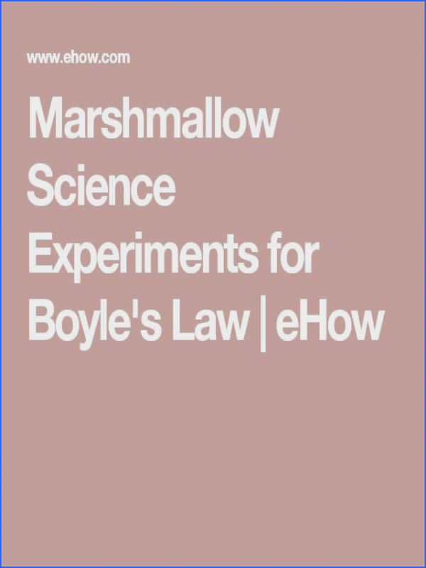 How to Demonstrate Boyle s Law to Children