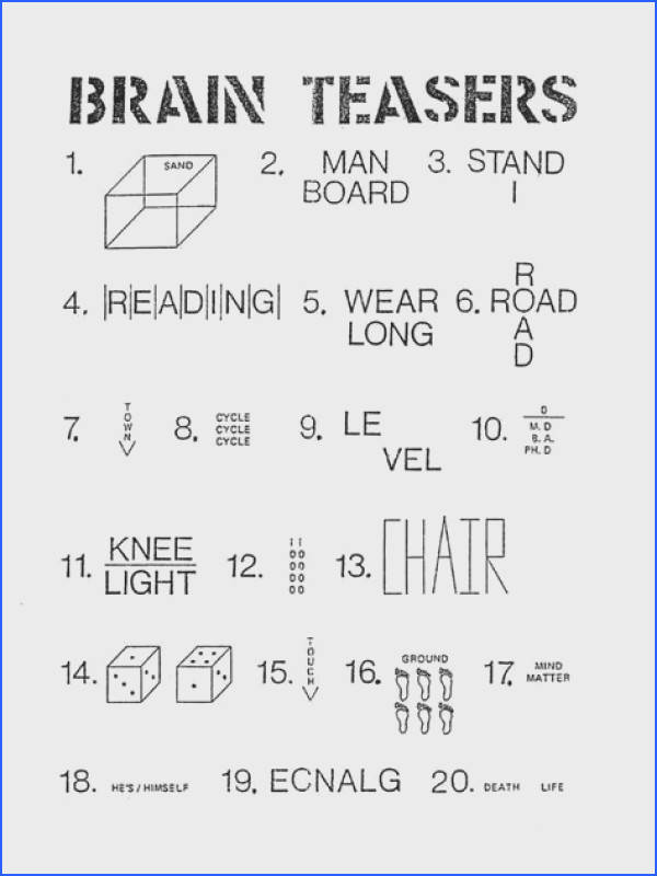 printable puzzles for adults