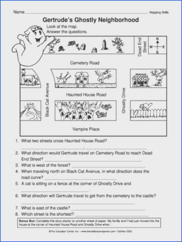 Gertrude& Ghostly Neighborhood Lesson Plans The Mailbox