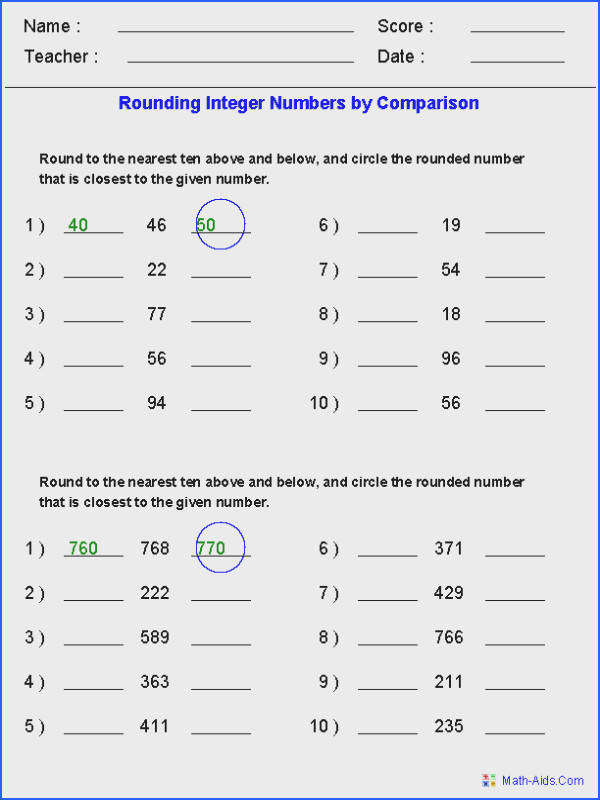 2Nd 3Rd Grade Math Worksheets Worksheets for all Download and Worksheets