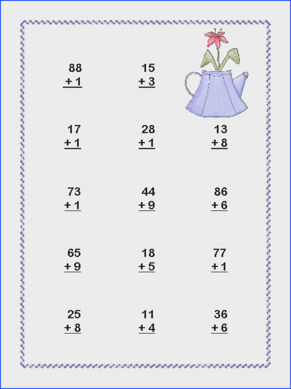 2Nd Grade Addition Carrying Worksheets for all Download and Worksheets