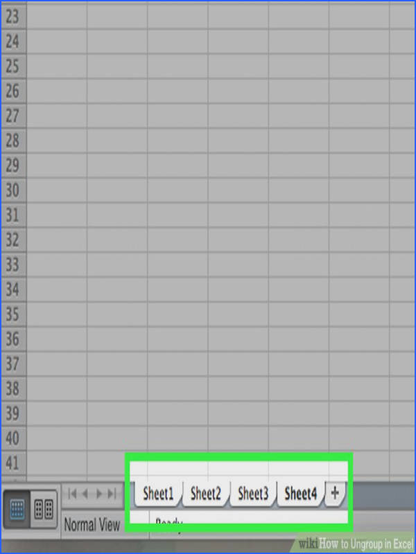 Image titled Ungroup in Excel Step 1